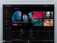 Do you remember our Apple Music Redesign Project? well' we're working on a new, real product based on our experiences from AM so stay tuned. We aim to beat the giants!  Remember to check out full v...