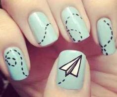 Simple designs go a long way. | 28 Colorful Nail Art Designs That Scream Summer