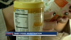 Alarming study: Baby formula, food contains lead, arsenic, cadmium Baby Food Recipes, Drink Bottles, Parenting, Nutrition, Positivity, Study, Baby Foods, Lead Free, Recipes For Baby Food
