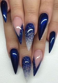 awesome christmas nail art idea
