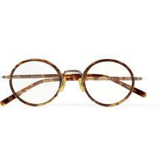 Eyevan 7285Round-Frame Acetate Optical Glasses