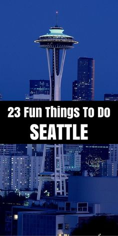 Seattles 23 best tourist attraction and things to do for visitors. Amazing list here guys. Check it out.