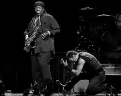 Absolutely love the respect and admiration these two have for each other. They are soul mates and you know they are just having the time of their lives up there. Bruce <3 Clarence