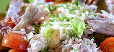 Een lekker snelle makreelsalade 21 Day Tummy, Fish Dishes, Potato Salad, Sushi, Good Food, Rice, Healthy, Ethnic Recipes, Lunches