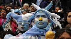 Centro de Aliento Buenos Aires.. Argentina.. ............... Argentina 1 Suiza 0 .......... Gol de Di Maria..... en tiempo suplementario..... 1 julio de 2014.. octavos de final.. Estadio Arena Corinthias ... San Pablo.. Brasil.