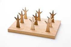 Create a Forest of Edible Treats with Mogu Mogu Wooden Forks