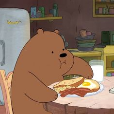 Shared by Seba. Find images and videos about cartoon, we bare bears and grizzly on We Heart It - the app to get lost in what you love. Cartoon Cartoon, Foto Cartoon, Happy Cartoon, Cute Disney Wallpaper, Cute Cartoon Wallpapers, We Bare Bears Wallpapers, We Bear, Bear Wallpaper, Cartoon Profile Pictures