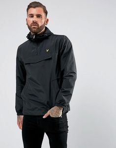 Get this Lyle & Scott's parka now! Click for more details. Worldwide shipping. Lyle & Scott Overhead Anorak Black - Black: Coat by Lyle Scott, Smooth woven fabric, Adjustable hood, Zip neck, Chest pocket, Fitted cuffs, Side pockets, Regular fit - true to size, Machine wash, 50% Cotton, 50% Nylon, Our model wears a size Medium and is 189cm/6'2.5 tall. The Lyle Scott range balances an old school 80s attitude with preppy styling and laid-back collegiate cool. Sweatshirts and joggers bring a…