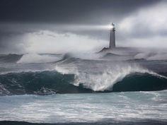 stormy seas   ...