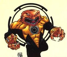 Braach of the Sinestro Corps.
