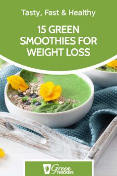 I've chosen my very best green smoothies for weight loss recipes that are also super fast, incredibly healthy and SO tasty you'll not even notice the color. Green Smoothie Cleanse, Green Detox Smoothie, Smoothie Diet, Cleanse Your Body, Detox Recipes, Weight Loss Smoothies, Get Healthy, Lose Weight, Tasty