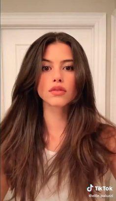 Long Hair With Bangs, Long Hair Cuts Wavy, Haircut For Medium Length Hair, Edgy Long Hair, Long Dark Hair, Long Layered Hair, Girl Short Hair, Wavy Hair, Kim Kardashian Cabelo