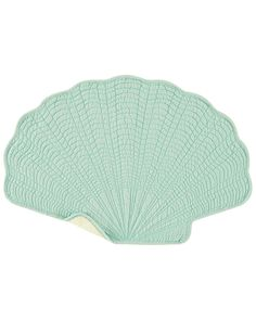 Spotted this Set of 6 Aqua Shell Placemats on Rue La La. Shop (quickly!).