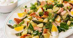 Fish And Seafood, Cobb Salad, Potato Salad, Food And Drink, Potatoes, Ethnic Recipes, Potato