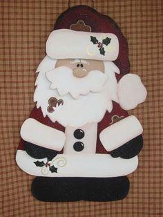Gingerbread Santa E Pattern