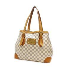 Louis Vuitton Hampstead MM Damier Azur Shoulder bags White Canvas N51206