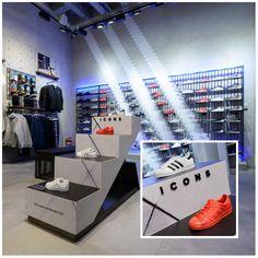 Брандиране на стелажи-кубчета Adidas # Изработка: J Point