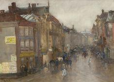 Floris Arntzenius - Wagenstraat, Den Haag gezien vanaf de Wagenbrug #3
