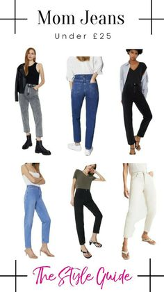 Blue Jeans, White Jeans, Acid Wash Jeans, 50 Off Sale, Style Guides, Mom Jeans, How To Wear, Shopping, Fashion
