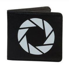 Portal 2 Aperture Laboratories Logo Leather Bi Fold Wallet