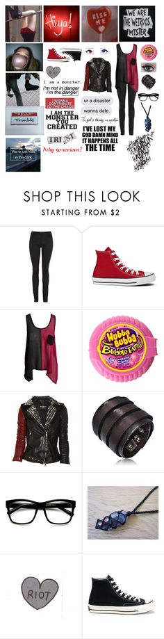 """My OC (Lucy/Brianna Quinn)"" by potatolover123 ❤ liked on Polyvore featuring interior, interiors, interior design, home, home decor, interior decorating, Lime Crime, T By Alexander Wang, Converse and Club L"