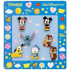 Disney Mickey Mouse Mini Pin Set - Cute Characters | Disney StoreMickey Mouse Mini Pin Set - Cute Characters - Make yourself smile with this set of seven mini Disney pins featuring stylized cute versions of Mickey and the gang that are too adorable for words!