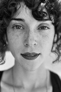 curly short fringe that works - annie clark