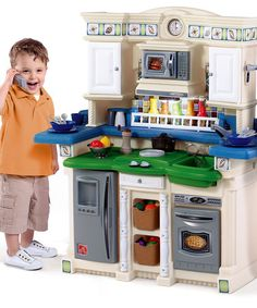 Love this Blue Life Style Party Time Kitchen Set on #zulily! #zulilyfinds