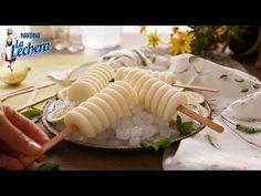 Polos de Limón y Leche Condensada - Postres La Lechera - YouTube Pamela, Table Decorations, Chocolates, Ethnic Recipes, Youtube, Food, Puddings, Cold Desserts, Cooking Recipes
