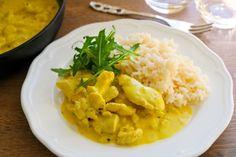 Nopea mangobroileri - Ruoka & Koti Thai Red Curry, Risotto, Good Food, Food And Drink, Keto, Ethnic Recipes, Fun, Healthy Food, Yummy Food