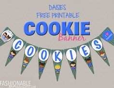 Fashionable Moms: Girl Scouts: Cookie Booth Flag Banner - FREE Download