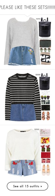 """PLEASE LIKE THESE SETS!!!!!!!!"" by scarlett-morwenna ❤ liked on Polyvore featuring Topshop, vintage, TIBI, Polaroid, Smythson, Nearly Natural, T By Alexander Wang, Elizabeth and James, BeginAgain Toys and ALDO"