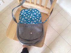 Le sac Musette (et le pied :) ) de Marion - Patron de couture Sacôtin
