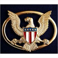 Golden metal Eagle ornament for buckles on Elvis belts ,costumes & jumpsuits on eBid United Kingdom