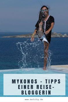 Mykonos. Die Insel hat so unglaublich viele Facetten und bietet täglich etwas Neues. Der trendige Beach-Club, wo alles geboten wird, was man sich vorstellen kann und wo mich gleichzeitig vieles überrascht hat. Die Taverne direkt am Meer, in der man für kleines Geld sehr gut essen kann. Ein edles Fischlokal, und natürlich meine geliebten stillen Ecken auf Mykonos. Tipps einer Reise-Bloggerin #reisetipps #mykonos # Reise #travel