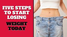 Five Steps to Start Losing Weight Today Start Losing Weight, Lose Weight, Health, Youtube, Health Care, Salud, Youtubers, Youtube Movies
