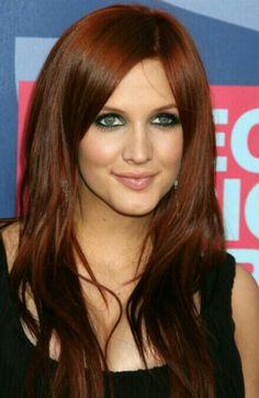 Redish brown..love it!