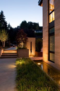 Washington Park Hilltop Residence by Stuart Silk Architects; Seattle, WA