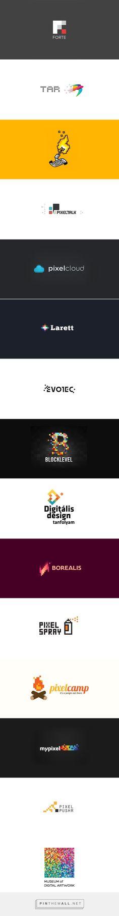 Showcase Art of Pixel Logo Design for Inspiration