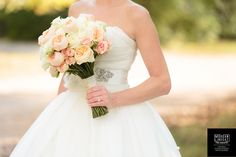 A gorgeous barn styled ceremony and reception venue at Loveless in Bellevue, Tennessee. Black and white color scheme, first look and Vera Wang gown. Wedding Flower Photos, Wedding Flowers, Wedding Day, Wedding Dresses, Vera Wang Gowns, Peony Flower, Black And White Colour, Bride Bouquets, Real Weddings