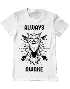 Tricou Always awake Camping, Mens Tops, T Shirt, Fashion, Campsite, Supreme T Shirt, Moda, Tee Shirt, Fashion Styles