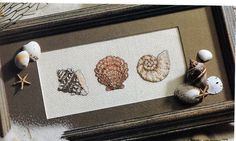 Cross Stitch Chart - SEASIDE COLLECTION  Includes: Instructions DMC / Anchor color key Cross stitch pattern Color photograph of finished product   For your consideration is a beautiful counted cross stitch pattern/chart as shown in the picture and listing title. This magnificent chart is in excellent condition without wrinkles or folds.  NOTE: This is a single original pattern, carefully removed from a magazine, book, or periodical. It is NOT a leaflet. Many patterns from magazines ...