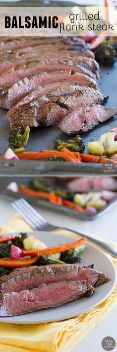 Wasabi Bloody Married Flank Steaks | Recipe | Flank Steak, Steaks and ...