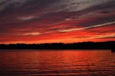 last minute sunset . kam918 . tyngsborough . massachusetts . lake massacupic