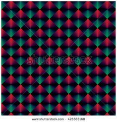 Vector angular colorful pattern - stock vector