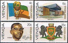 Venda 1979 Independence Set Fine Mint                    SG 1 4 Scott 1 4  Other Homelands Stamps Here