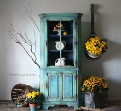 The Turquoise Iris ~ Vintage Modern Hand Painted Furniture: Layers Upon Layers Upon Layers and Vulnerability