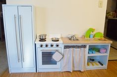 My Little Blue Kitchen | Do It Yourself Home Projects from Ana White