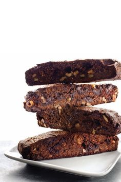 Chocolate Almond Biscotti #glutenfree #grainfree #paleo