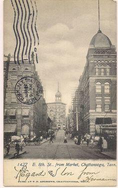 1905 UNDIVIDED BACK CHATTANOOGA TENNESSEE TN HAMILTON COUNTY POSTCARD
